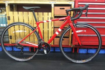 "<span class=""title"">メーカー完売モデル cannondale caad13 105 48cm レッドが </span>"