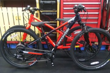 """<span class=""""title"""">cannondale kids モデル Trail24とQuick24 それぞれ在庫中です。</span>"""