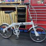 簡単折りたたみ自転車 カリブーライト