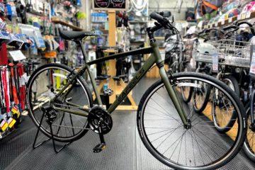 "<span class=""title"">初めてのクロスバイクに。eafeels 52cm マットカーキ</span>"