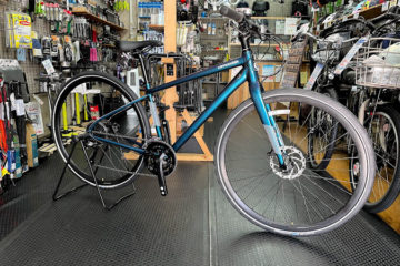 """<span class=""""title"""">cannondale QUICK 3  Sサイズの入荷です。</span>"""